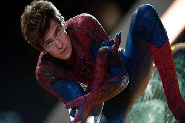 Video Diduga Andrew Garfield dengan Kostum Spider-Man Muncul