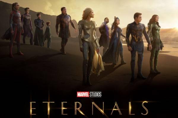 Berdurasi 156 Menit, Eternals Akan Jadi Film Terpanjang Kedua Marvel