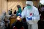 Bantu Masyarakat, Bid Dokkes Polda Gorontalo Layani Pemeriksaan Rapid Test Antigen
