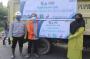 Sampah Menumpuk di Banyak Tempat, PLTU Tenayan Bantu Mobil Angkut