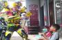 Sosialisasi Prokes, Robot Transformer Blusukan Keluar Masuk Kampung di KBB