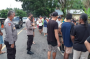 Puluhan Personel Polres Minahasa Bantu Evakuasi Lokasi Bencana Banjir di Tenga dan Sinonsayang